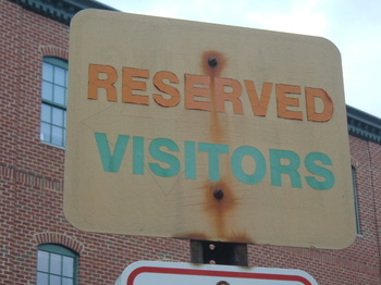 Reservedvisitors
