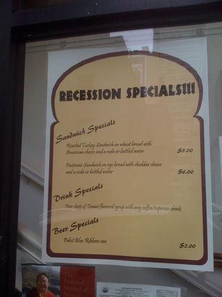 Recessionspecials
